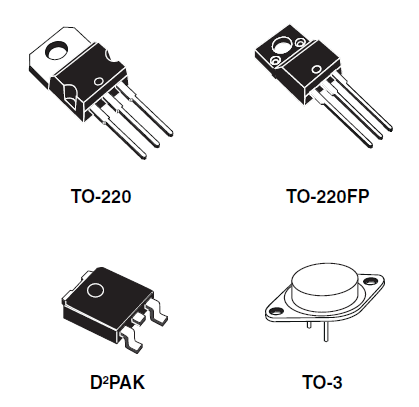 Powerful stabilizer on lm317  LM317T switching circuit
