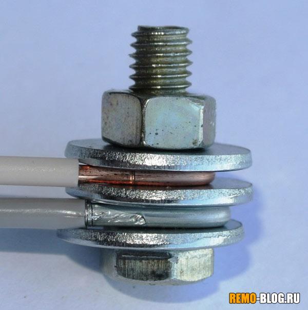 Verbindung von Aluminium und Kupferdraht in der Wohnung. Wie man ...